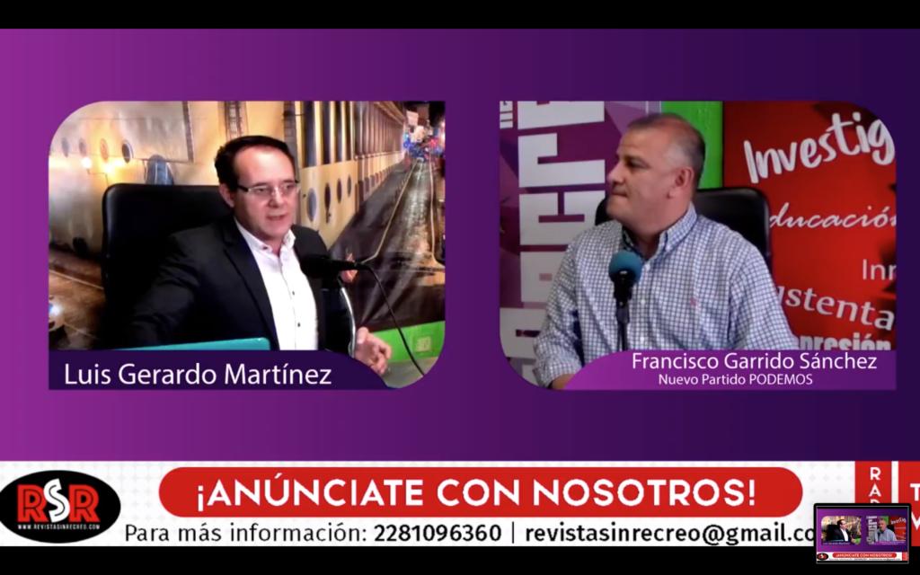 Entrevista a Francisco Garrido sobre el recién creado partido local PODEMOS